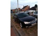 Ford Mondeo TDCI Ghia X 06 plate all extras 11 months MOT black