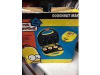 Mini Donut Maker with recipe book