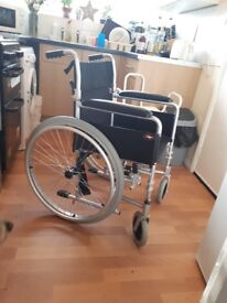 Wheelchair excellent condition no footrest thus price