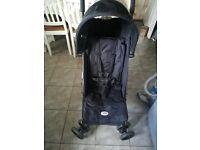 Small fold lightweight pushchair/ pram