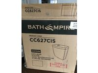 Close coupled cistern and soft close toilet seat