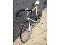 Raleigh Scorpio Road Bike and lock