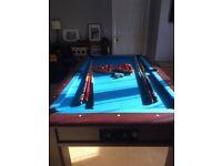 Immaculate slate pool table