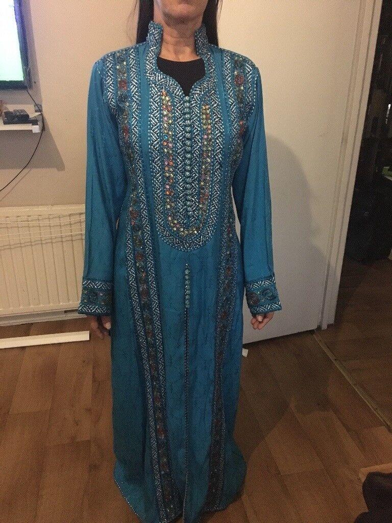 Blue kaftan/ Aladdin Dress ono