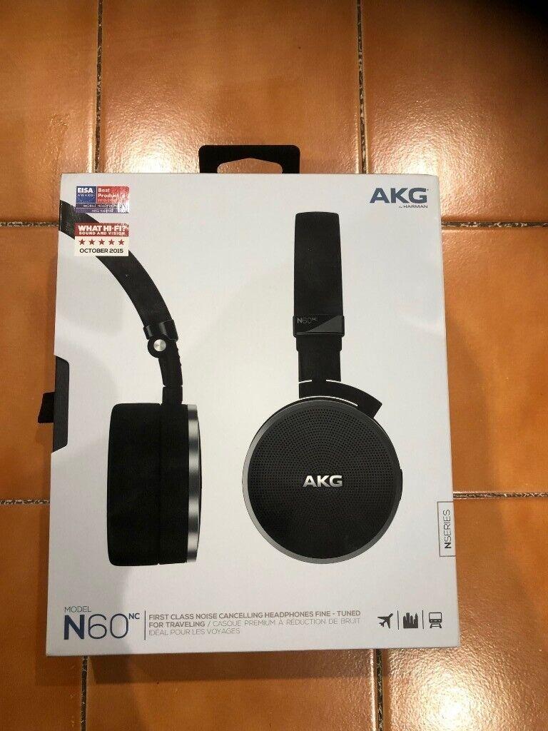 53bd717deab Brand New, unused AKG N60 Noise Cancelling On Ear Headphones ...