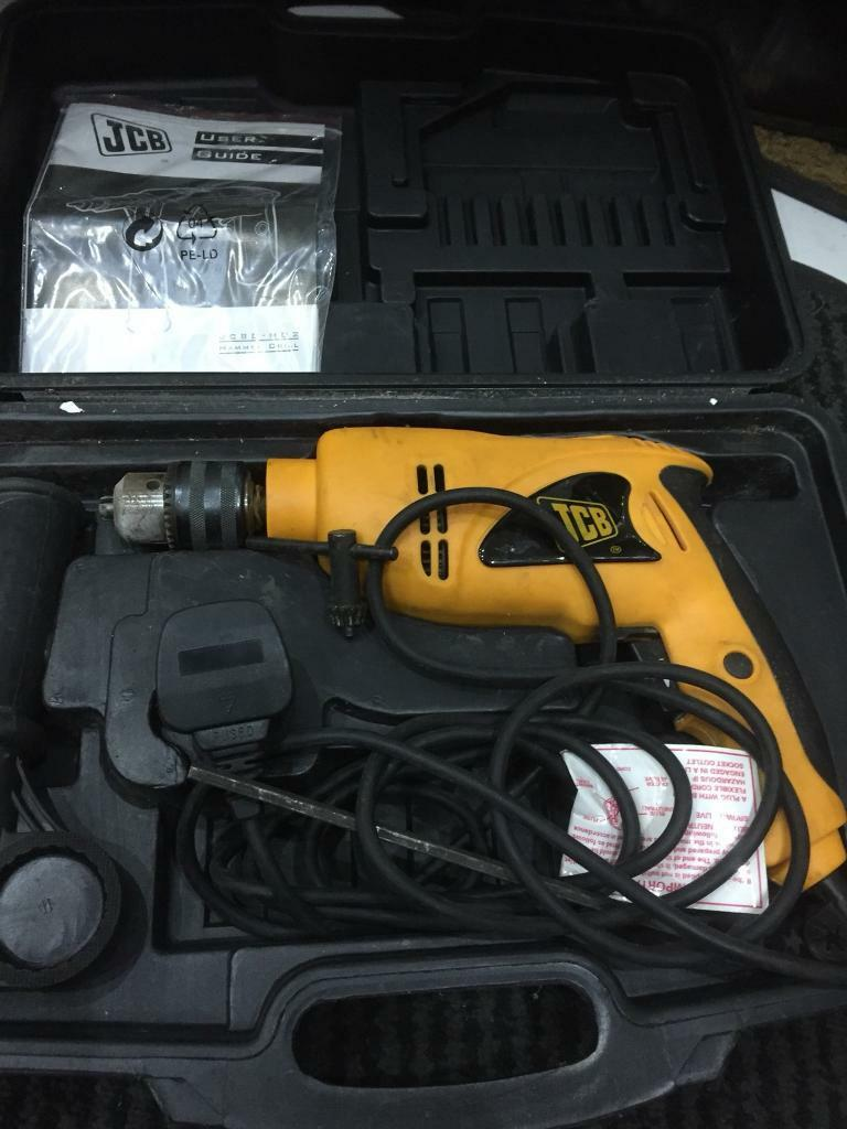 Pre owned JCB. -hd2 Hammer Drill in good working order .
