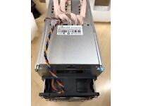 2 X Bitmain Antminer D3 19.3GH/s X11 Miner inc PSU APW3++ In Hand READY TO SHIP