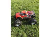 HPI SAVAGE 25 Nitro Rc Monster Truck in really good condition