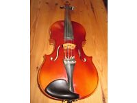 Beautiful 4/4 violin. Great intermediate instrument for grade 3-7.