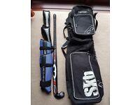 Men's hockey stick and bag