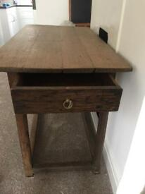 Lovely old kitchen style table