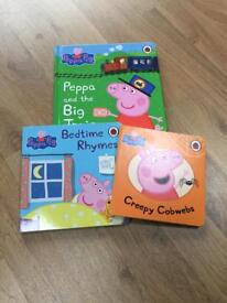 Peppa pig board book collection