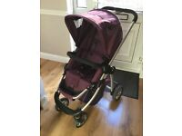 Icandy Cherry Pushchair in a Grape colour