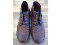 Men's Pikolinos brown leather boots size 12