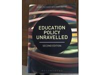 Education policy unraveled