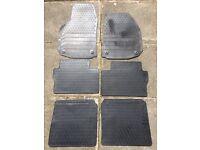 Rubber Floor Mats-Vauxhall Zafira
