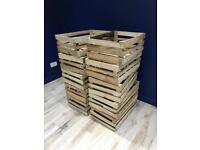 Wooden Apple Crates