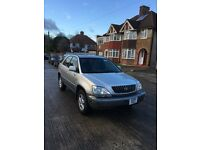 LEXUS RX300 left hand drive, petrol, automatic+ leather seat + Sunroof.