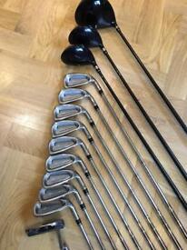 Benross Golf Clubs - 3-SW, 3&5 Wood, Driver, Taylormade Putter
