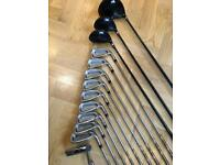Benross Golf Clubs - 3-SW, 3&5 Wood, Driver, Taylormade Putter