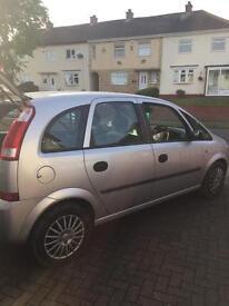 Vauxhall Meriva life 16v 1.4