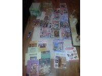 collection of dolls house magazines and hard back books 86 of them