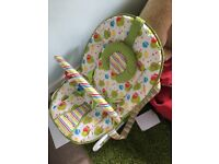 Mothercare Owls 2-in-1 baby bouncer and rocker