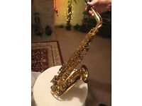 Yamaha 62 Alto Sax as new.
