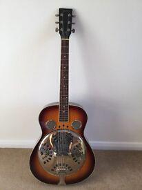 Resonator guitar by Blueridge