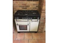 Rangemaster Kitchener 90 gas hob and electric oven only 18 month old