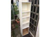 FREE tall 5 shelf unit white storage shelving shelfing chest drawers FREE PICKUP ONLY