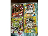 Tom Gates book x 4