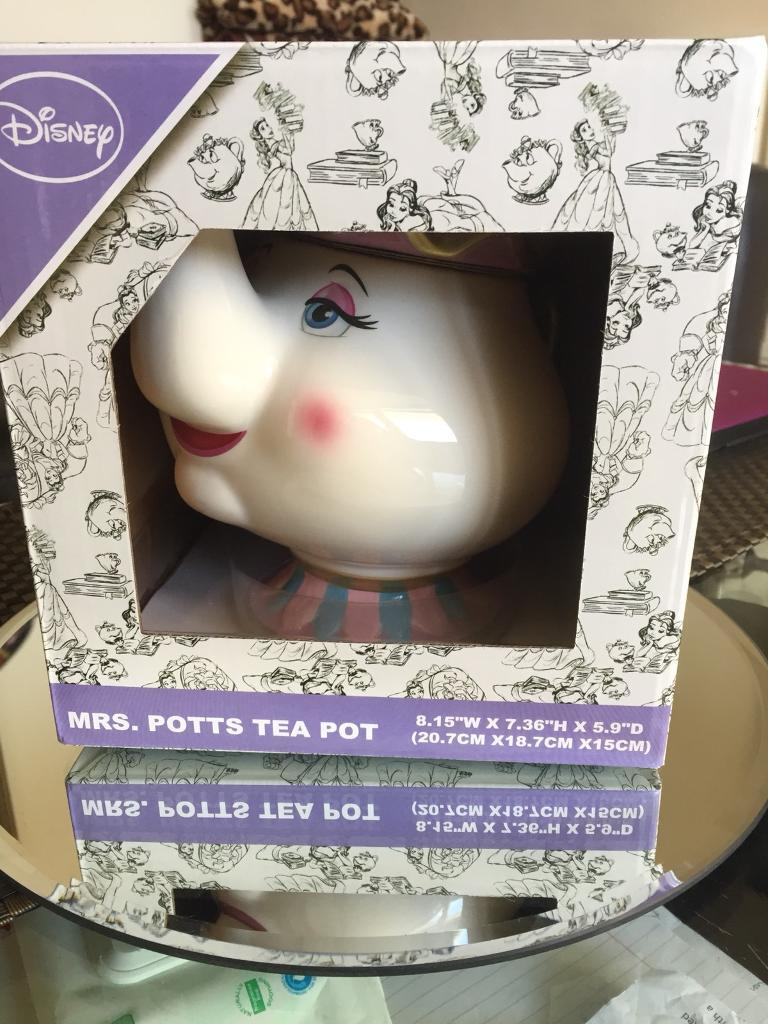 MRS. POTTS TEA POT