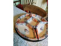 Chinese dinner set with a lazy susan