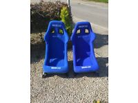 Sparco sprint bucket seats