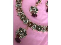 Necklace and Earrings set (costume)