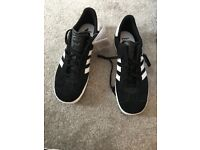 Brand new with tags black Adidas Gazelle size 5.5