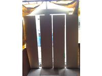 SET OF 4 WARDROBE DOORS
