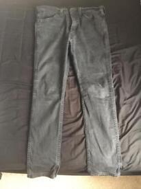 Black Mens Levi's Jeans