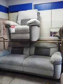 Newe grey lazy boy reclining sofas delivery available bargain price set