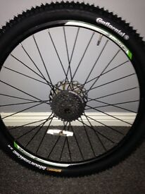"""26"""" wheels front and back disc"""