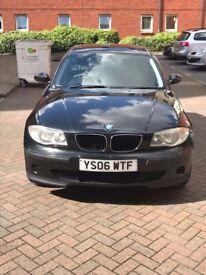 BMW 1 Series 2006 - WTF Number Plate