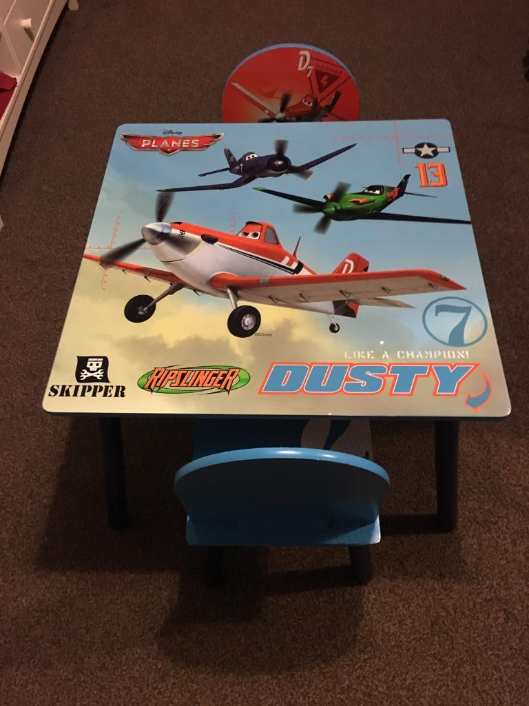 Disney Planes Table and Chairs set