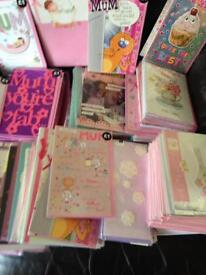 Mother's Day cards joblot