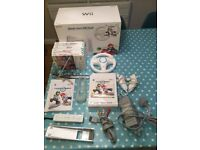 Mario Kart Nintendo Wii console and games