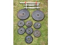 York Dumbell for sale total weight 37.5