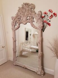 Huge Decorative Wall Mirror (DELIVERY AVAILABLE)