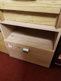 marple 1 drawer bedside