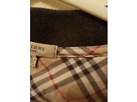 Burberry longsleeve shirt. Large.