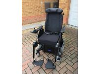Invacare Outdoor/Indoor Electric Wheelchair TDX SP2, High Specification
